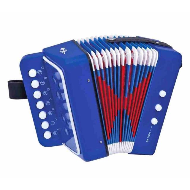 Obrázek produktu Bino Dětský akordeon (tahací harmonika), 10 kláves