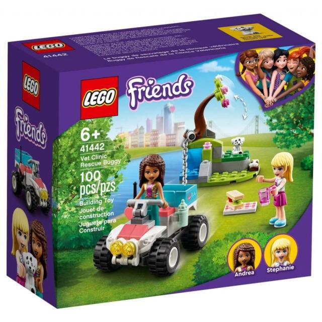 Obrázek produktu LEGO Friends 41442 Veterinářská záchranná bugina