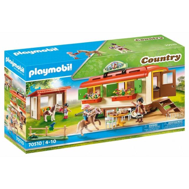 Obrázek produktu Playmobil 70510 Pony Kemp s maringotkou