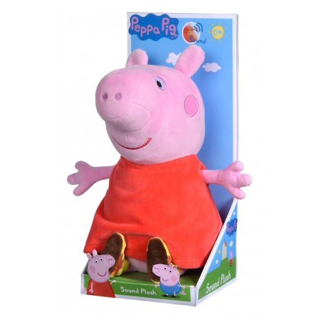 Obrázek produktu Plyšové Prasátko Peppa Pig se zvukem 22 cm