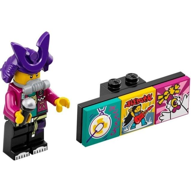 Obrázek produktu LEGO VIDIYO 43101 Minifigurka Bandmate Samurapper