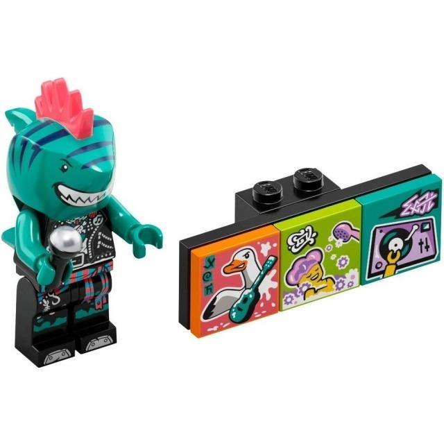 Obrázek produktu LEGO VIDIYO 43101 Minifigurka Bandmate Zpívající žralok