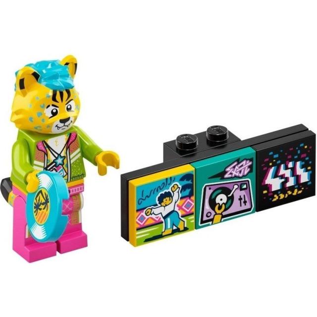 Obrázek produktu LEGO VIDIYO 43101 Minifigurka Bandmate DJ Cheetah