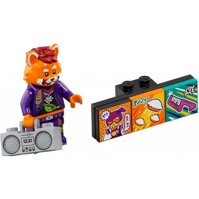 Obrázek produktu LEGO VIDIYO 43101 Minifigurka Bandmate Červená panda