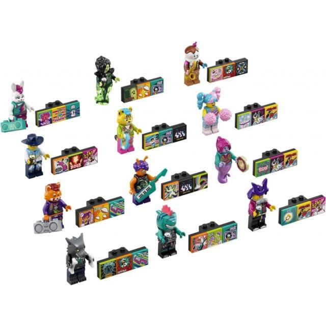 Obrázek produktu LEGO VIDIYO 43101 Ucelená kolekce 12 minifigurek Bandmate