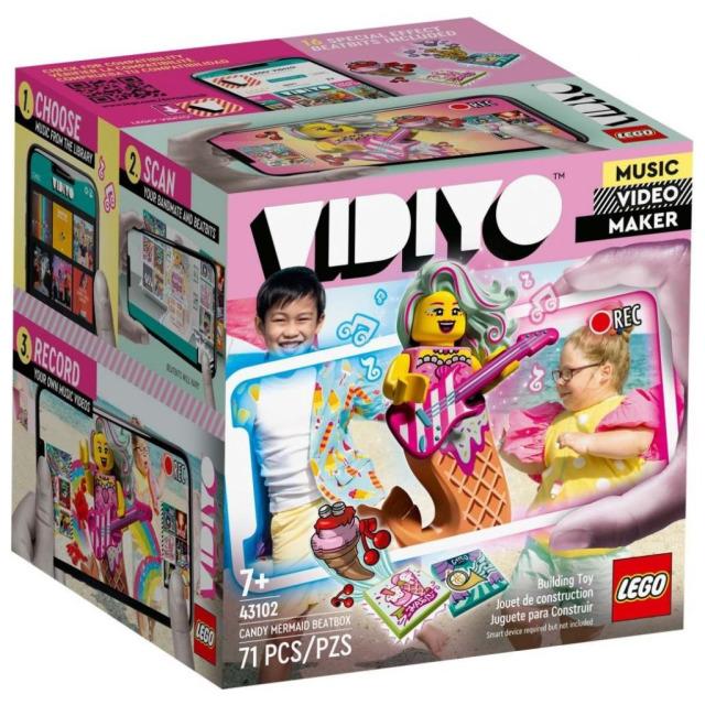 Obrázek produktu LEGO VIDIYO 43102 Candy Mermaid BeatBox