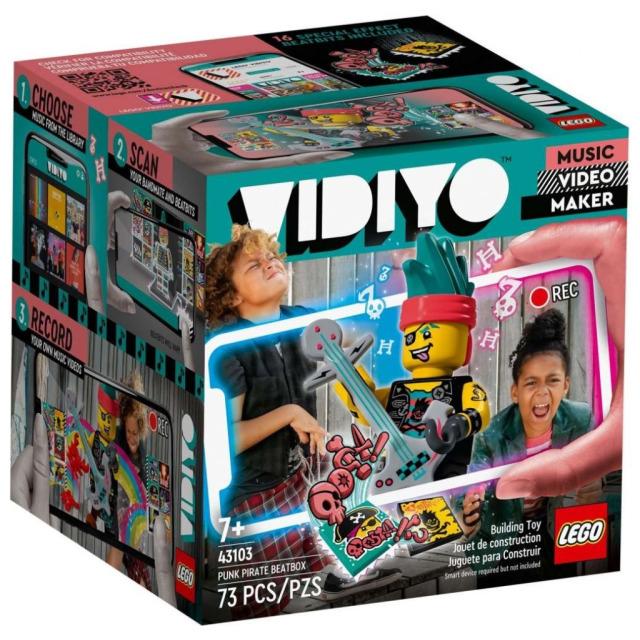 Obrázek produktu LEGO VIDIYO 43103 Punk Pirate BeatBox