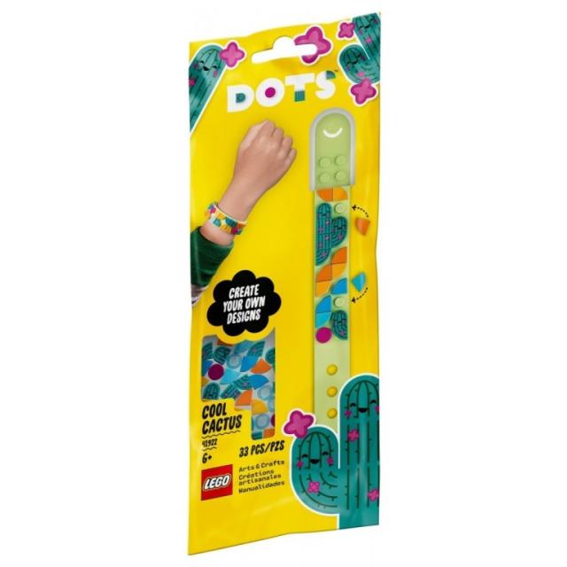 Obrázek produktu LEGO DOTS™ 41922 Náramek Bláznivý kaktus