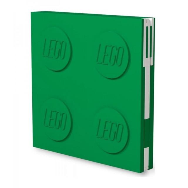 Obrázek produktu LEGO Zápisník s gelovým perem jako klipem - zelený