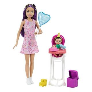 Obrázek 1 produktu Barbie Chůva herní set Narozeniny, Mattel GRP40