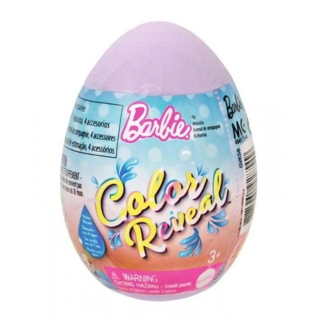 Obrázek produktu Mattel Barbie COLOR REVEAL Velikonoční vajíčko, GVK58