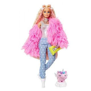 Obrázek 1 produktu Barbie Extra Stylová dlouhovláska s prasátkem, Mattel GRN28