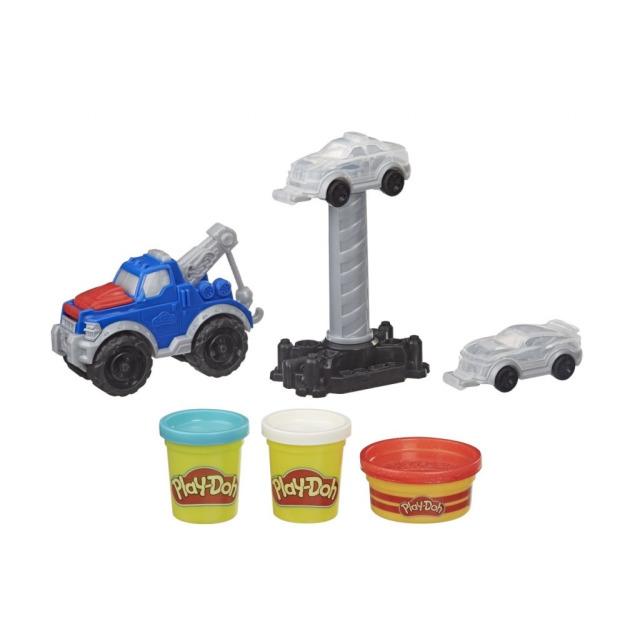 Obrázek produktu Play Doh Wheels Odtahový vůz, Hasbro E6690