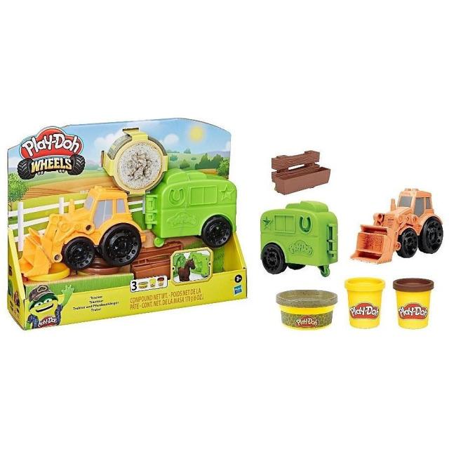 Obrázek produktu Play Doh Traktor, Hasbro F1012
