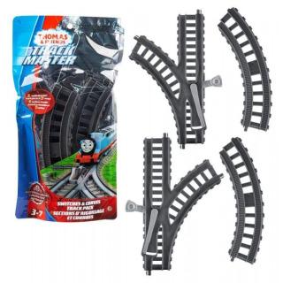 Obrázek 1 produktu Fisher Price Tomášek a přátelé Koleje zatáčky a výhybky, Mattel GGM05