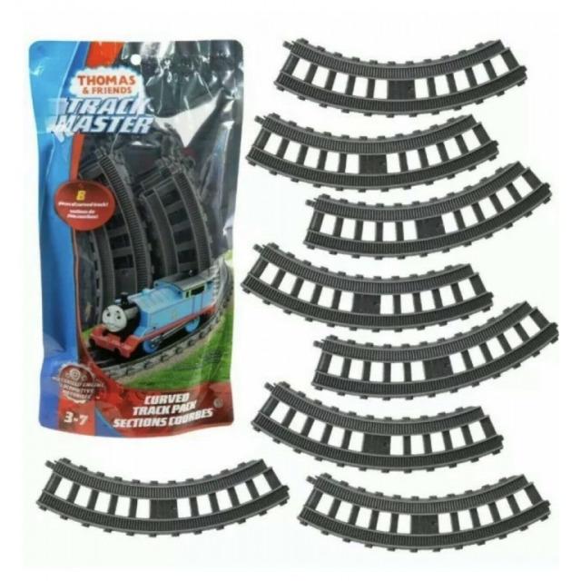 Obrázek produktu Fisher Price Tomášek a přátelé Koleje zatáčky, Mattel GGM04