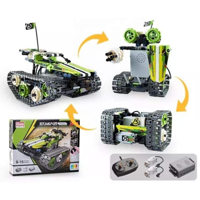Obrázek produktu Tech Bricks 8015 R/C Pásák 3v1, 353 dílků