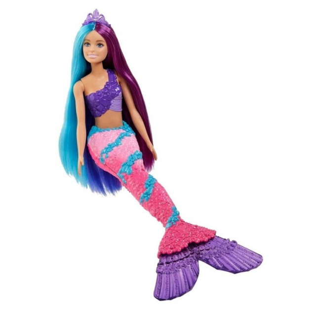 Obrázek produktu Barbie Mořská panna s dlouhými vlasy, Mattel GTF39