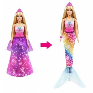 Obrázek 1 produktu Barbie Z princezny mořská panna, Mattel GTF92