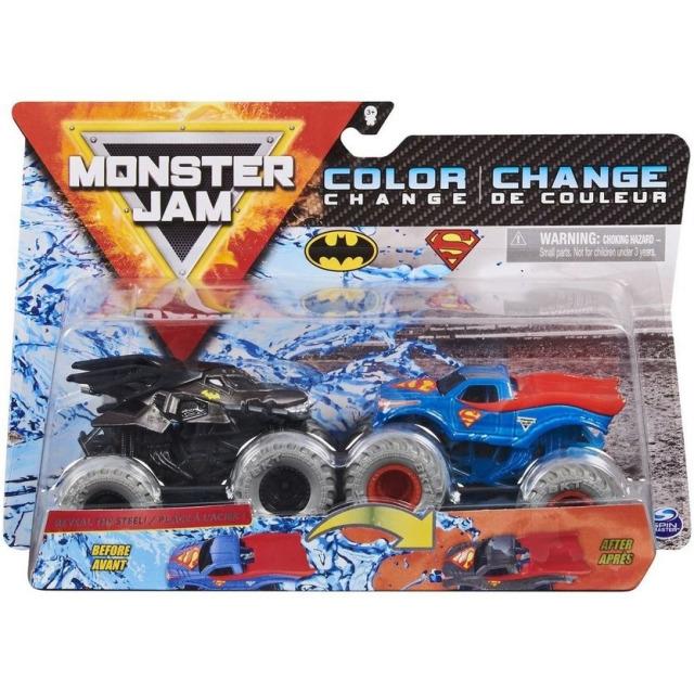 Obrázek produktu Spin Master Monster Jam Sběratelské dvoubalení Batman vs. Superman