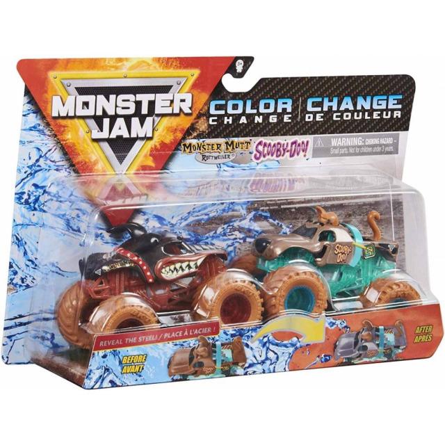 Obrázek produktu Spin Master Monster Jam Sběratelské dvoubalení Monster Mutt vs. Scooby-Doo!