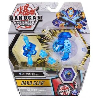 Obrázek 1 produktu Bakugan Baku-Gear drak s přídavnou výstrojí Tretorous Ultra
