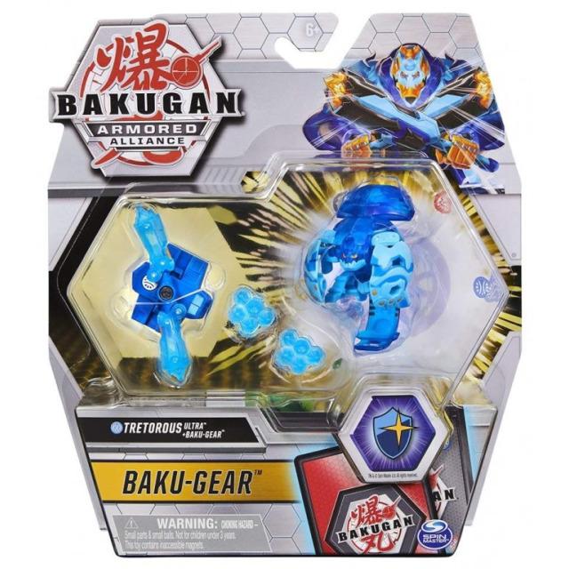 Obrázek produktu Bakugan Baku-Gear drak s přídavnou výstrojí Tretorous Ultra