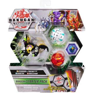 Obrázek 1 produktu Bakugan startovací sada 3ks S2 Hydorous x Trhyno Ultra