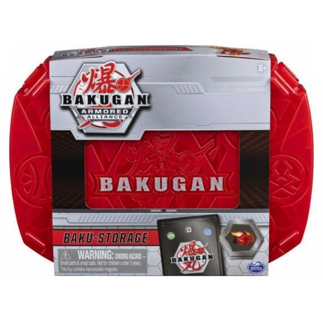 Obrázek produktu Bakugan sběratelský kufřík S2 červený