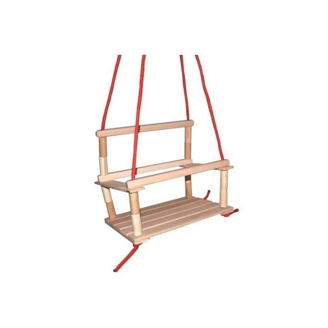 Obrázek produktu Dreval Houpačka dřevěná menší 35 x 27 cm