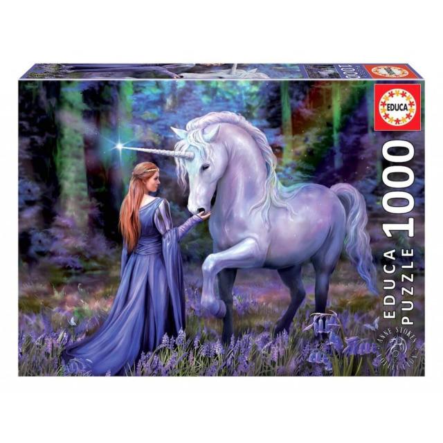 Obrázek produktu EDUCA 18494 Puzzle Bluebell Woods, Anne Stokes,1000 dílků