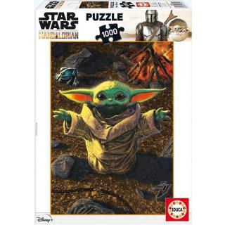 Obrázek 1 produktu EDUCA 18892 Puzzle Star Wars Mandalorianské dítě,1000 dílků