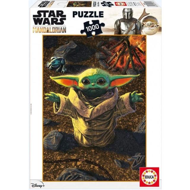 Obrázek produktu EDUCA 18892 Puzzle Star Wars Mandalorianské dítě,1000 dílků