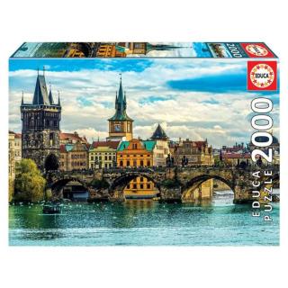 Obrázek 1 produktu EDUCA 18504 Puzzle Pohled na Prahu, 2000 dílků