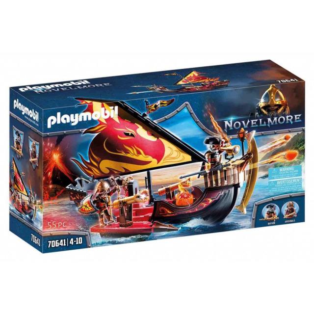 Obrázek produktu Playmobil 70641 Novelmore Burnhamská ohnivá loď