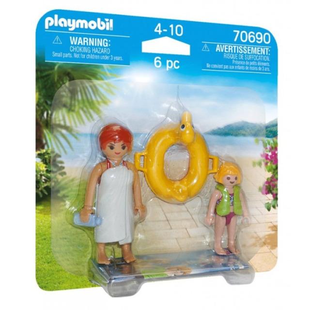 Obrázek produktu Playmobil 70690 DuoPack Koupání v Aquaparku