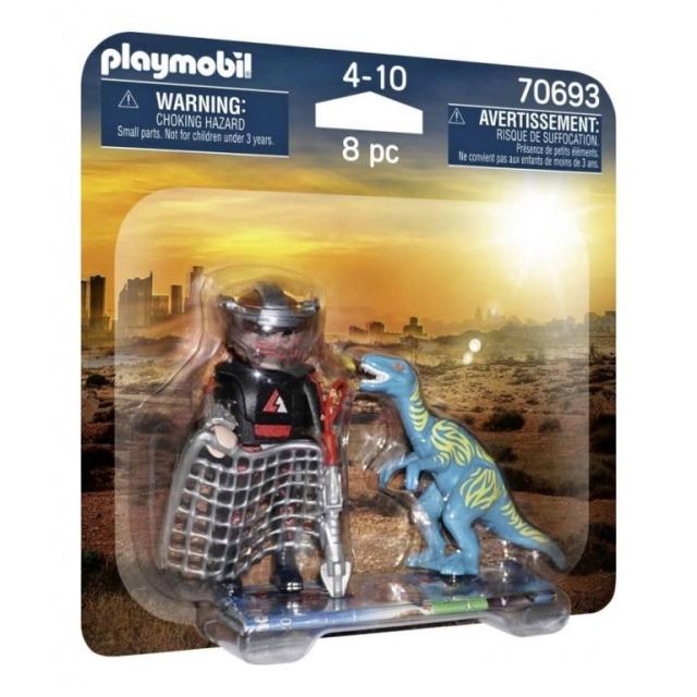 Obrázek produktu Playmobil 70693 DuoPack Velociraptor a Lovec