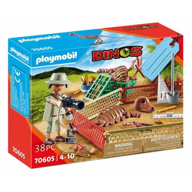 Obrázek produktu Playmobil 70605 Dárkový set: Paleontolog