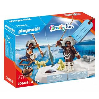 Obrázek 1 produktu Playmobil 70606 Dárkový set: Eskymáci při lovu ryb