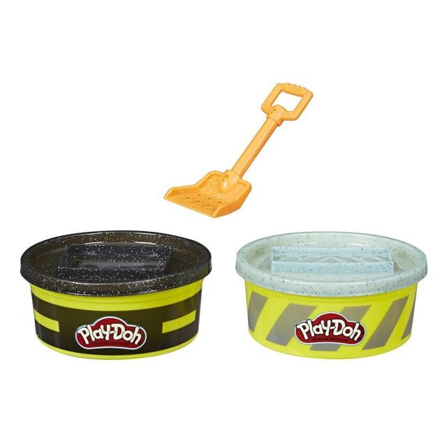 Obrázek produktu Play Doh Wheels Stavební modelína Černá a šedá, Hasbro E4525