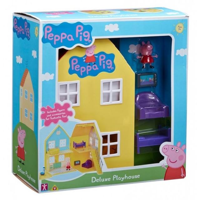 Obrázek produktu Peppa Pig DeLuxe dům s figurkou a příslušenstvím