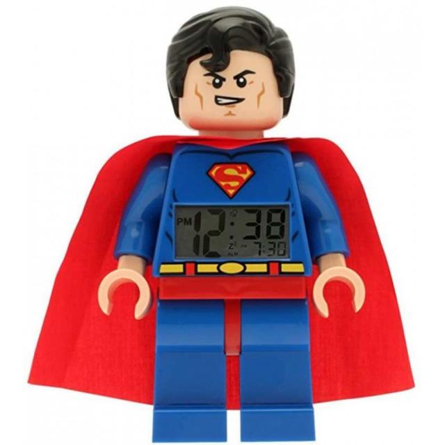 Obrázek produktu LEGO DC Super Heroes hodiny s budíkem Superman
