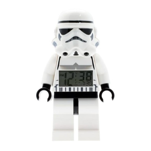 Obrázek produktu LEGO Star Wars Stormtrooper hodiny s budíkem (poškozený obal)