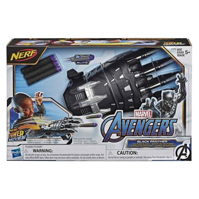 Obrázek produktu Nerf Power Moves Vystřelovací ruka Černého pantera, Hasbro E7372