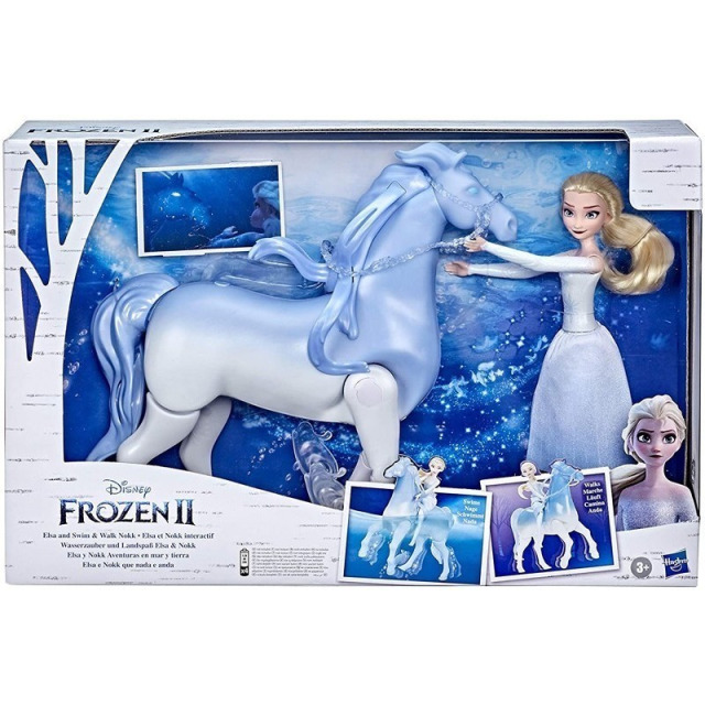 Obrázek produktu Hasbro Disney Frozen 2 Princezna Elsa a chodící kůň Nokk, E6716