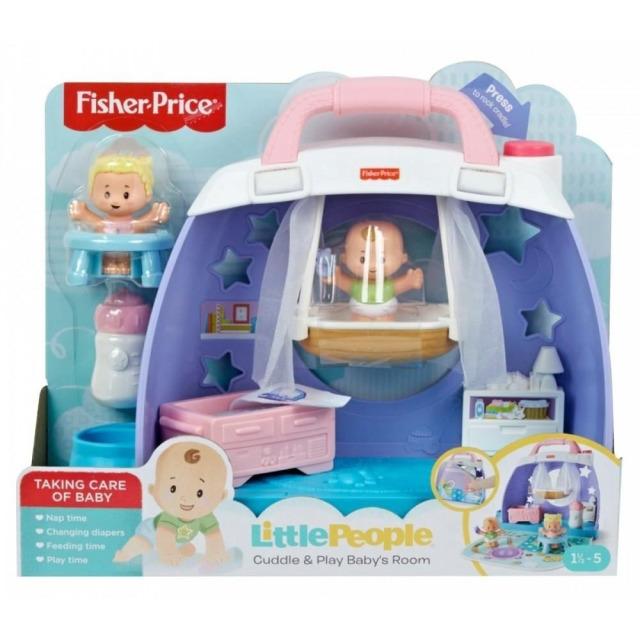 Obrázek produktu Fisher Price Little People Péče o miminko Přenosný kufřík, Mattel GKP70