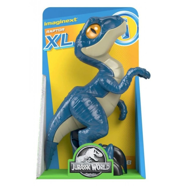 Obrázek produktu Fisher Price Imaginext XL DINO RAPTOR, Mattel GWP07