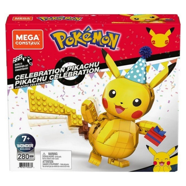 Obrázek produktu Mega Construx Pokémon Oslava Pikachu