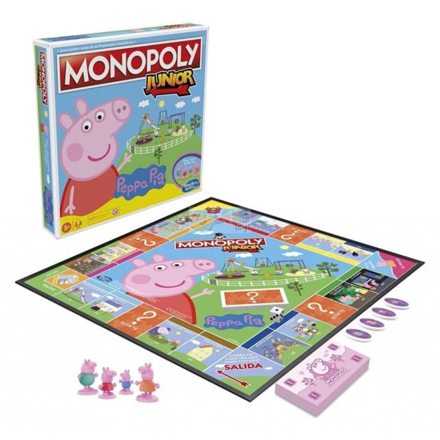 Obrázek produktu Monopoly Junior Peppa Pig, Hasbro F1656