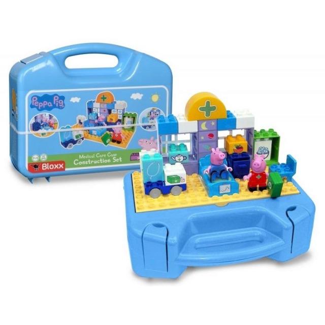 Obrázek produktu PlayBIG Bloxx, Peppa Pig Nemocnice sada v kufříku